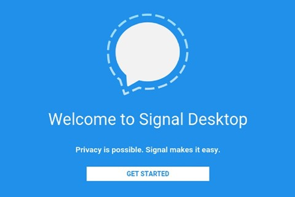 Imagem de Signal, mensageiro indicado por Snowden, chega para PC no tecmundo