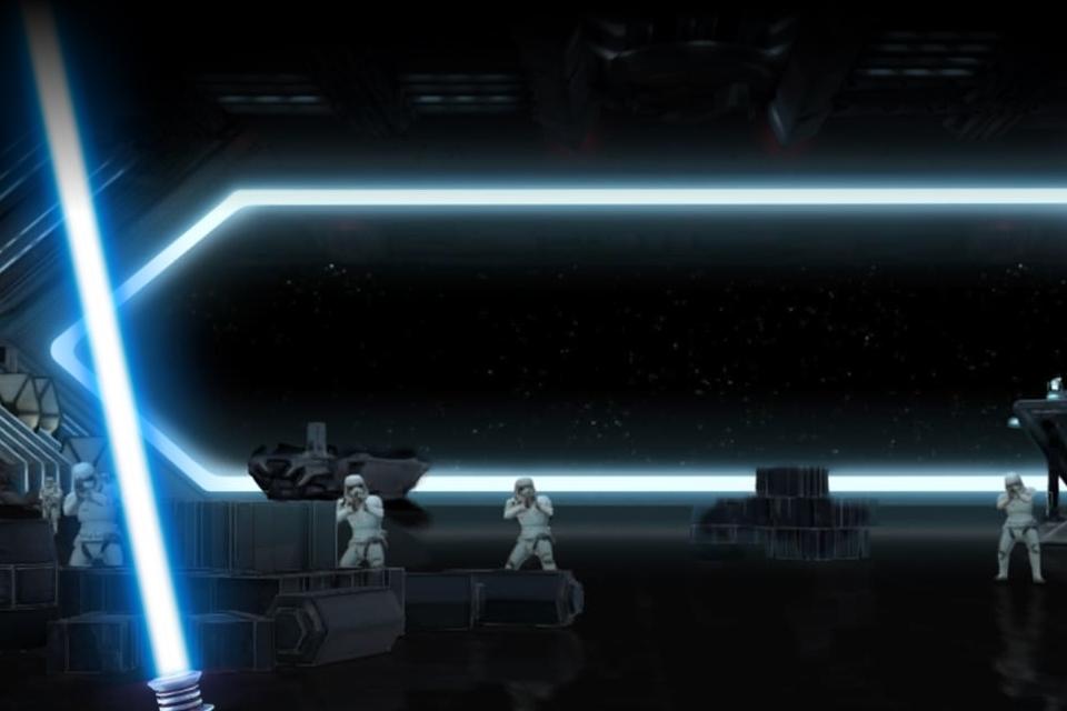 Imagem de Fuga com Sabre de Luz: game transforma seu celular em um lightsaber [vídeo] no tecmundo