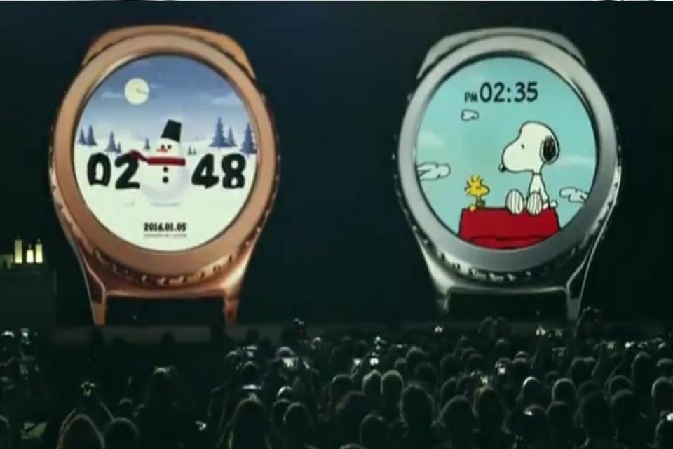 Imagem de Se o Apple Watch tem o Mickey, o Samsung Gear S2 agora tem o Snoopy no tecmundo