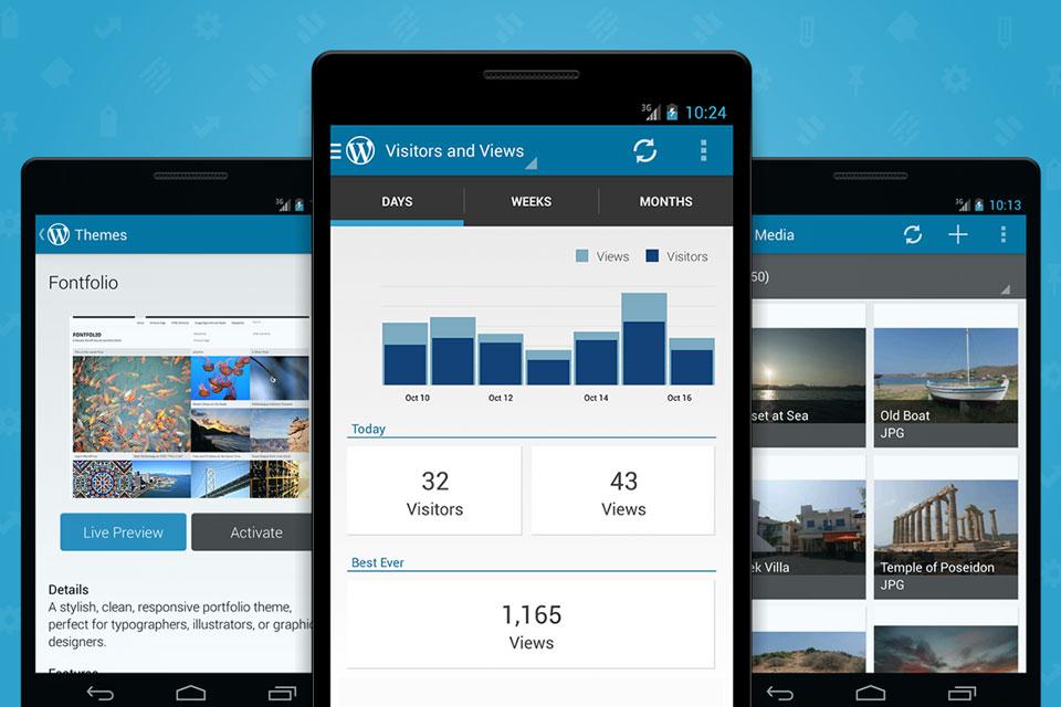 Imagem de WordPress: App para Android recebe atualização com ótimas adições no tecmundo