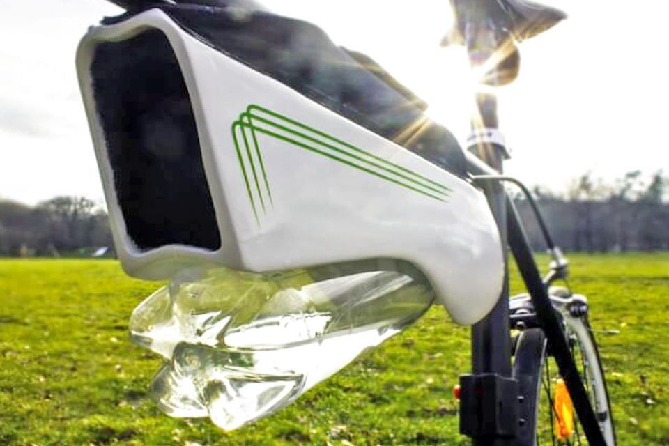 Imagem de Fontus: garrafa se enche de água sozinha com as suas pedaladas [vídeo] no tecmundo