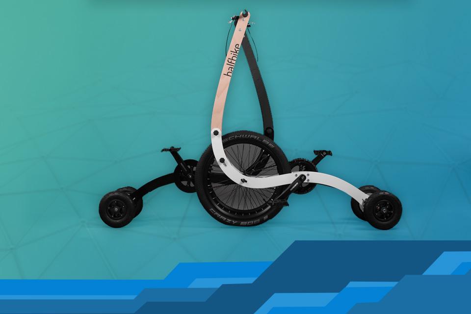 Imagem de Sucesso do Kickstarter: testamos a Halfbike, projeto maluco que deu certo no tecmundo