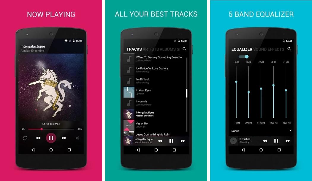 Os 5 melhores players de música para Android para você usar