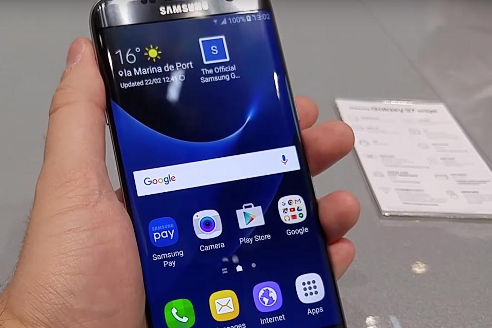 Imagem de Testamos na MWC 2016: confira o nosso Hands On do Galaxy S7 edge [vídeo] no tecmundo