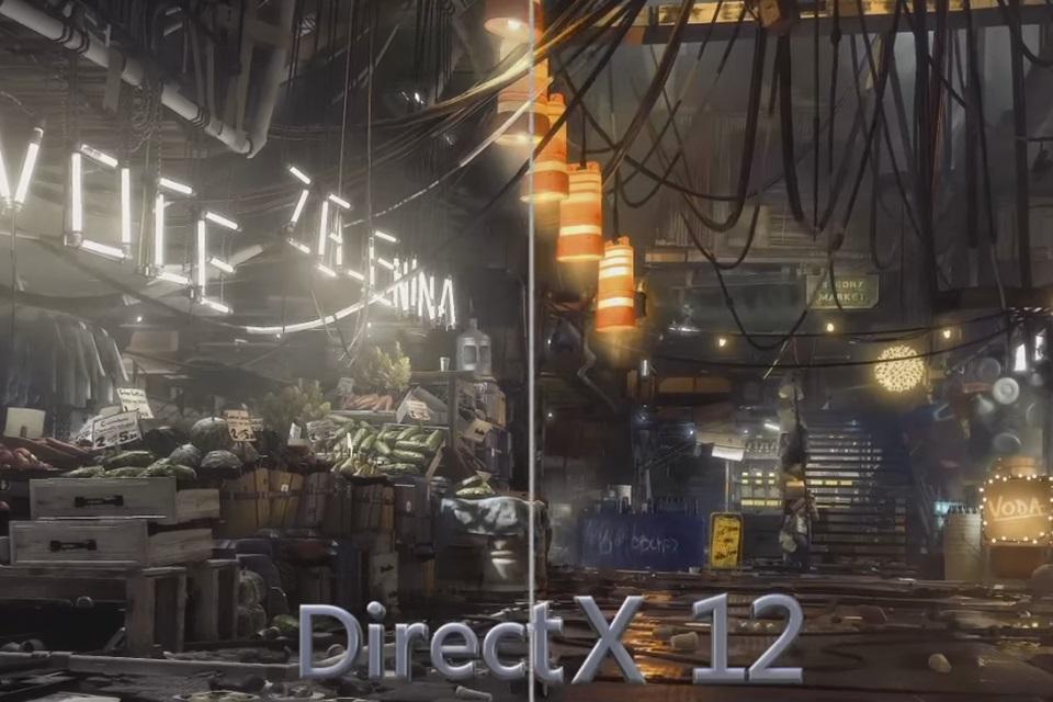 Imagem de DirectX 12 ganha comparativo em vídeo durante evento da Microsoft no tecmundo