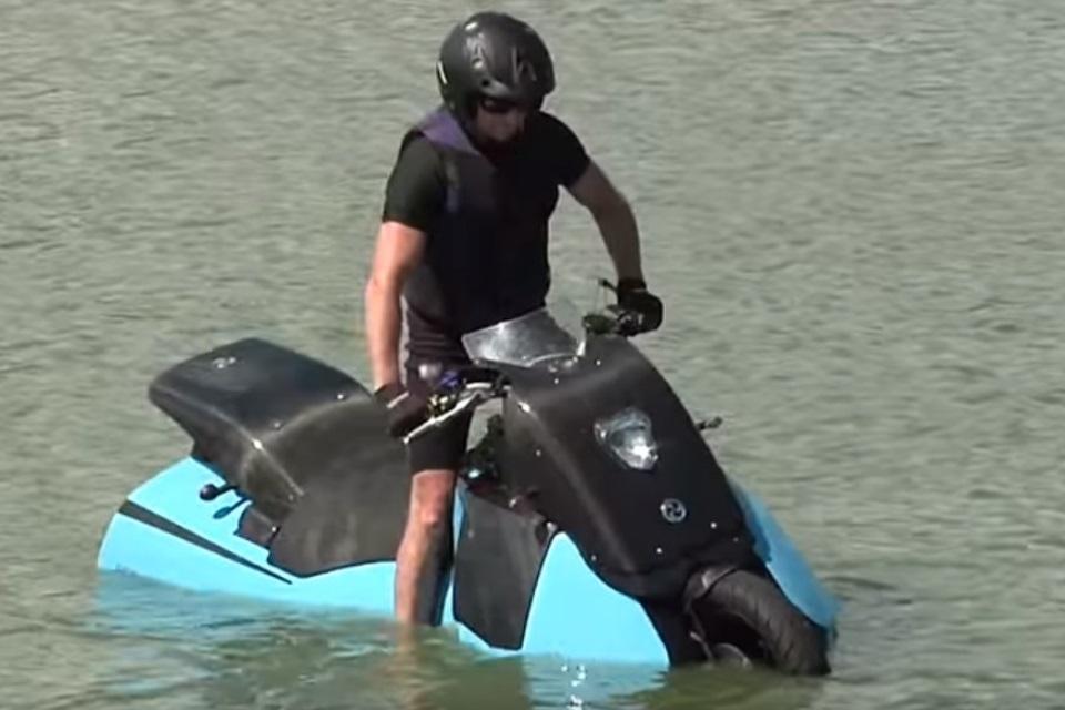 Imagem de Biski: a sua próxima moto anfíbia favorita no tecmundo