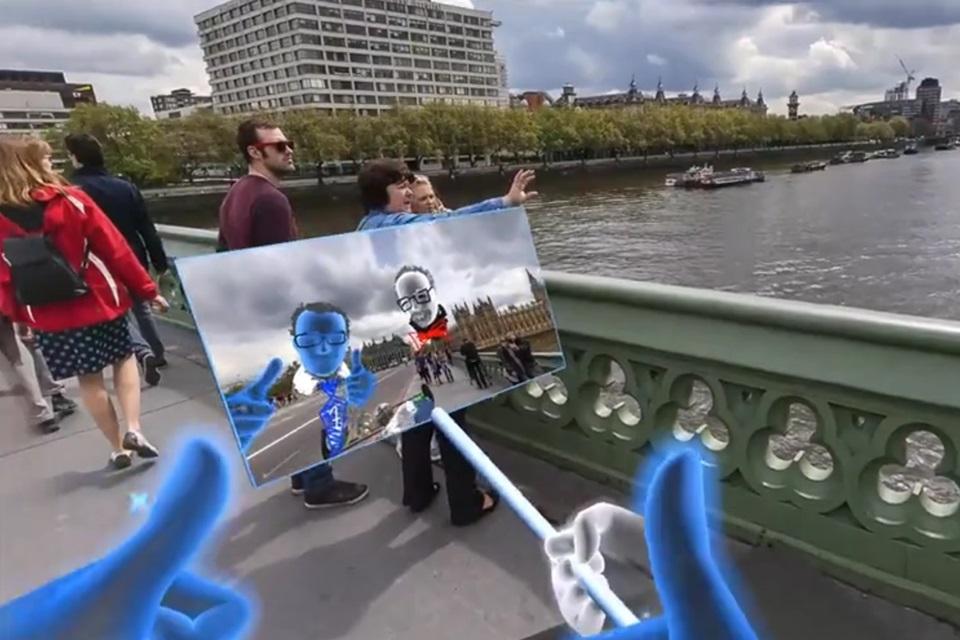 Imagem de Facebook apresenta recurso que permite tirar selfies em realidade virtual no tecmundo