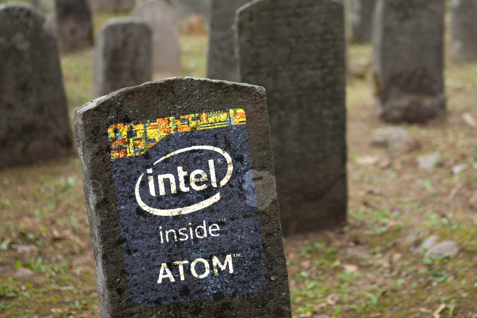 Imagem de Intel mata linha Atom e desiste de mobile para focar em produtos rentáveis no tecmundo