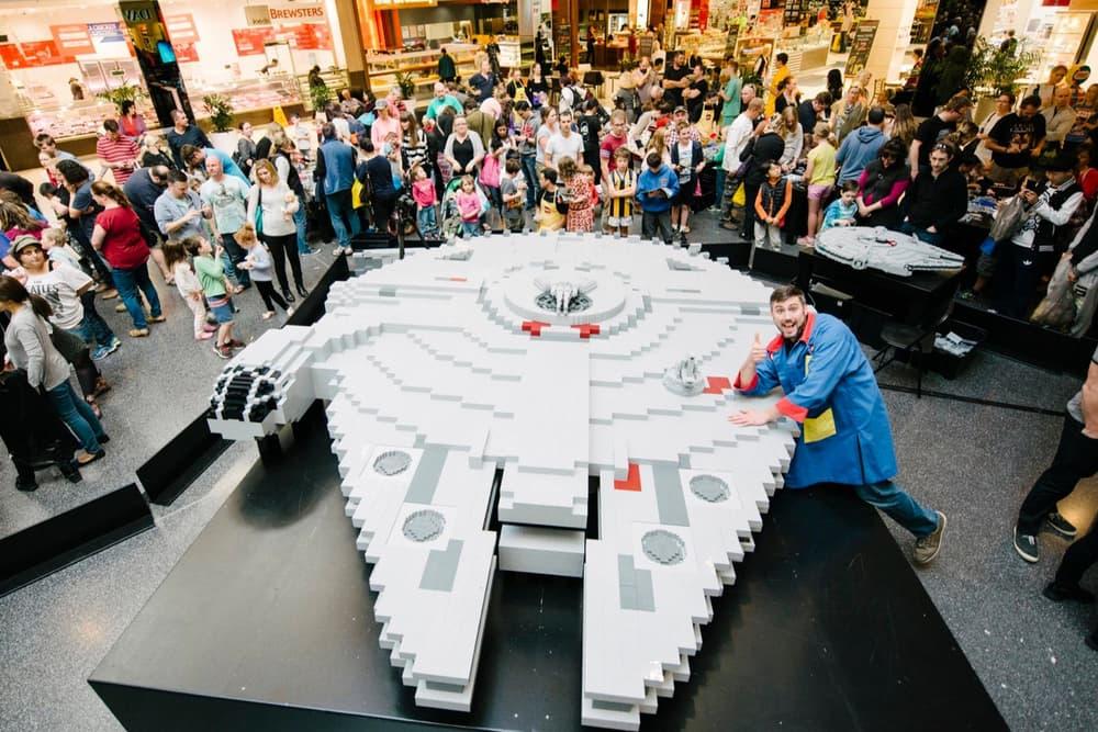 Imagem de Construíram uma Millenium Falcon de LEGO que pesa 500 kg no tecmundo