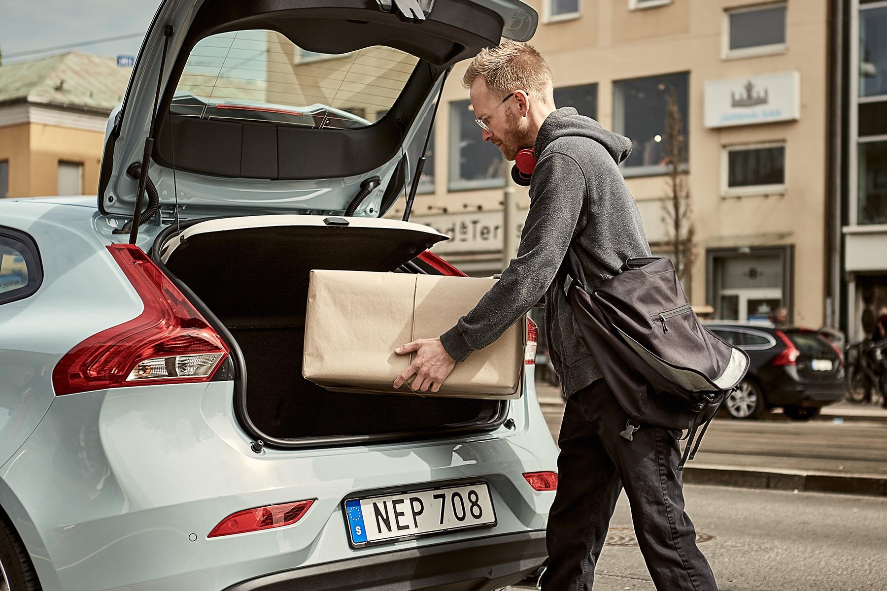Imagem de Volvo está testando serviço que faz entregas no porta-malas de seu carro no tecmundo