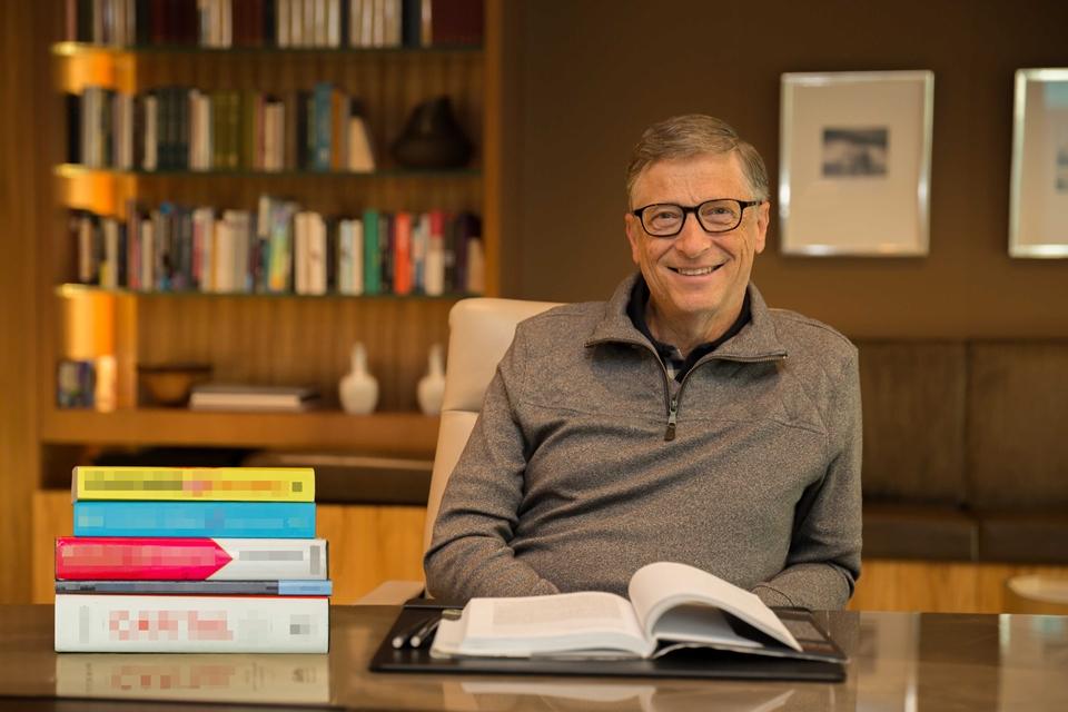 Imagem de Bill Gates lista cinco livros que todo mundo deveria ler este ano no tecmundo