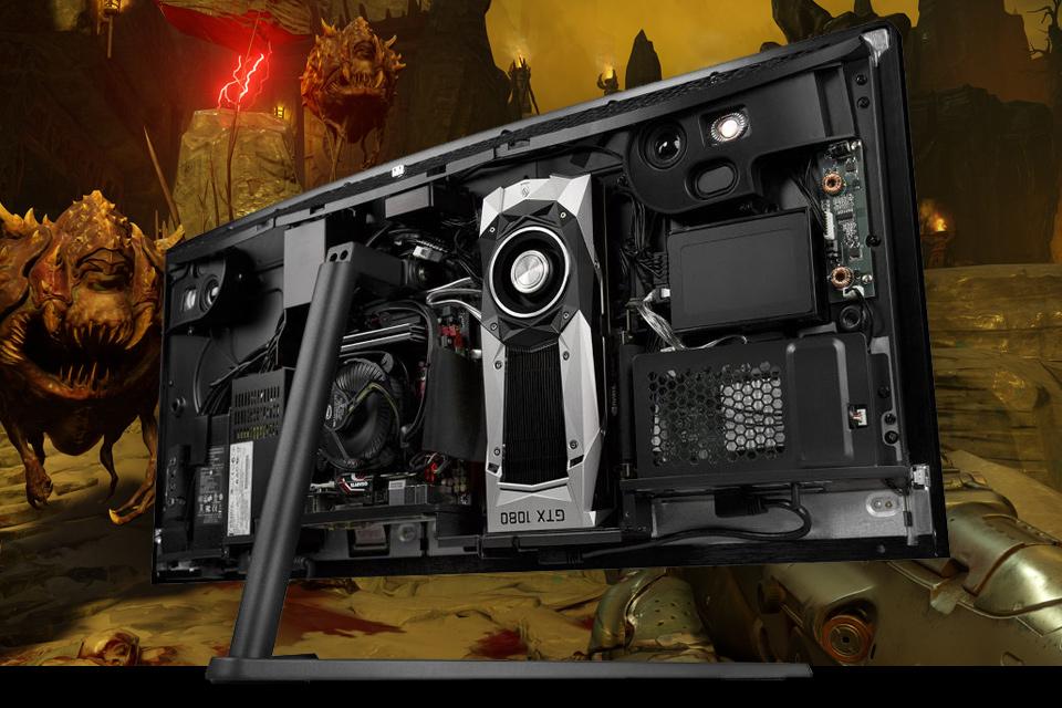 Imagem de All-in-one nervosão tem uma NVIDIA GTX 1080 e custa US$ 5 mil no tecmundo