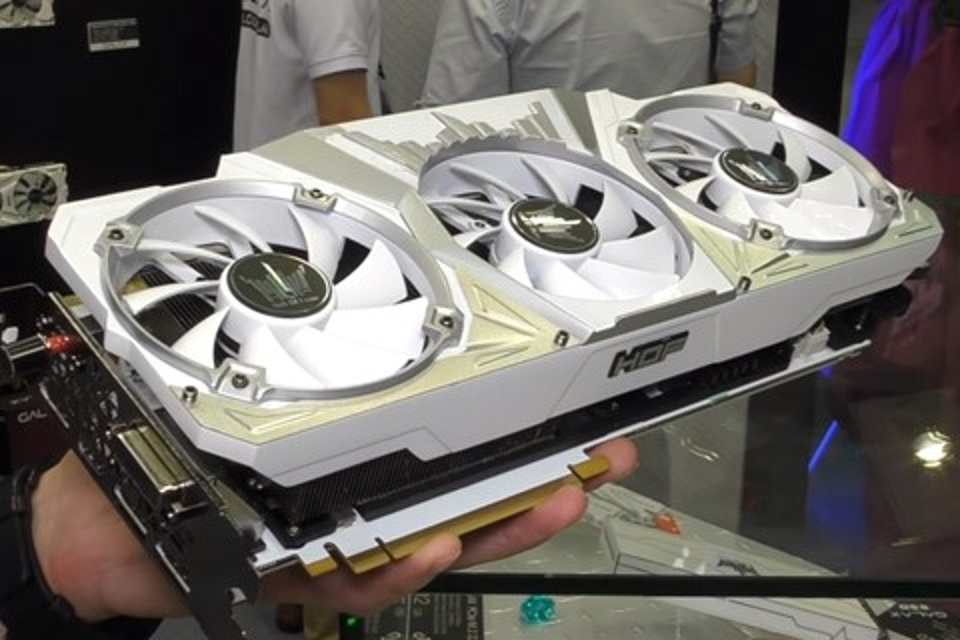 Imagem de GALAX anuncia a GeForce GTX 1080 HoF mais rápida do mercado no tecmundo