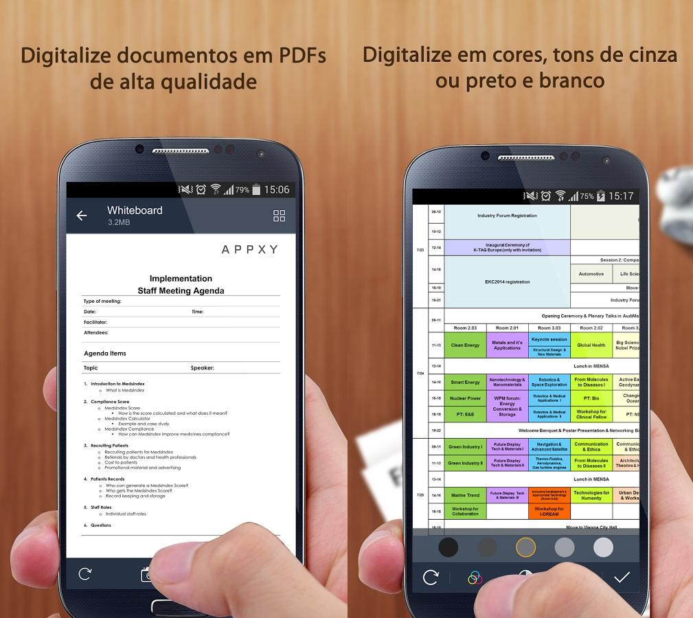 Digitalização de arquivos