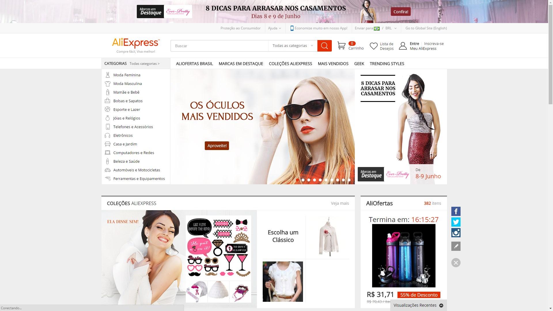 44cf7e028b6 As 5 melhores lojas internacionais para quem quer comprar produtos ...