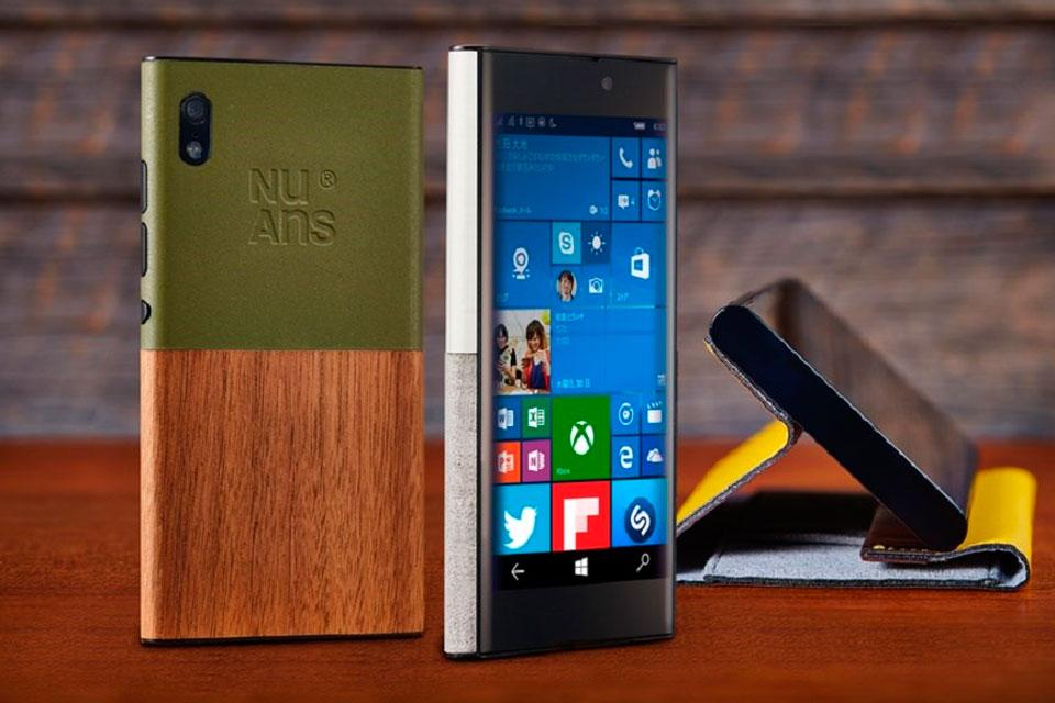 Imagem de NuAns NEO, smartphone com Windows 10, começa a ser vendido pelo mundo no tecmundo