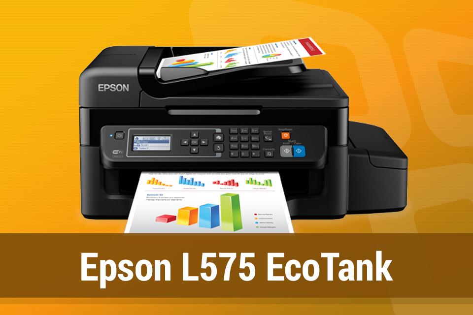 Imagem de Review: multifuncional Epson L575 EcoTank no tecmundo