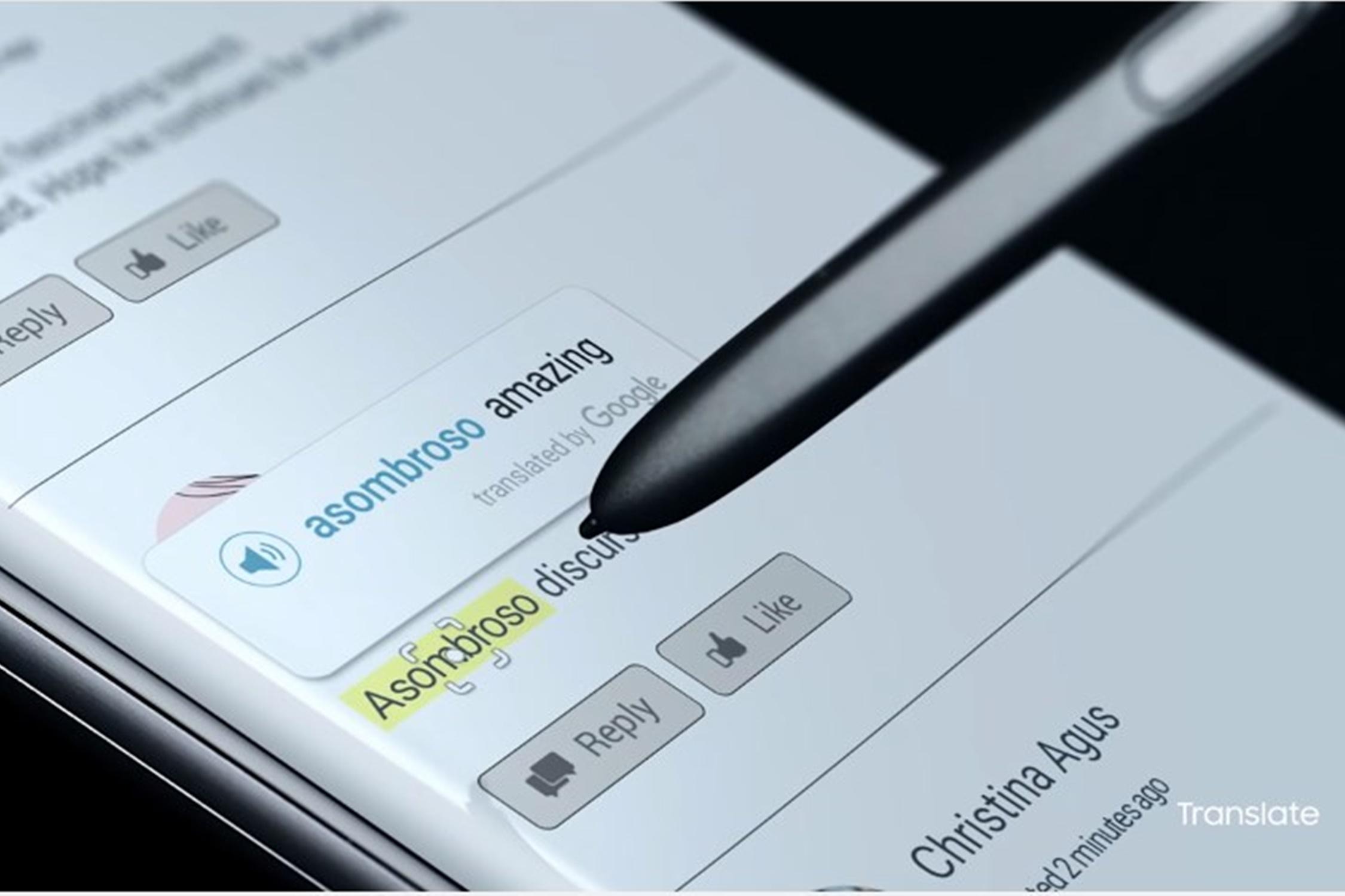 """Imagem de Como funciona a """"tradução instantânea"""" da S Pen no Galaxy Note 7 no tecmundo"""