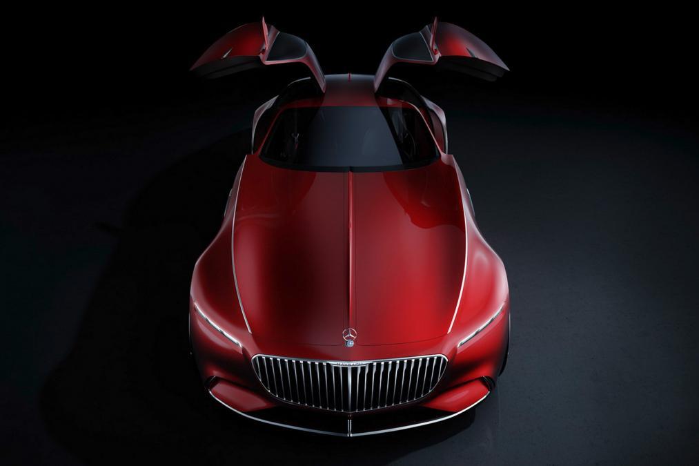 Imagem de 6 metros de puro luxo: vazam imagens do colossal Mercedes-Maybach 6 no tecmundo