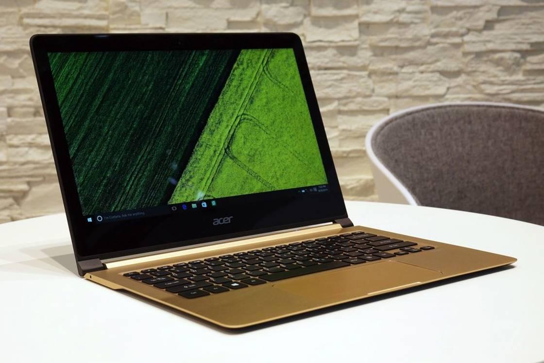 Imagem de Menor que 1 centímetro: Acer anuncia o Swift 7, notebook mais fino do mundo no tecmundo