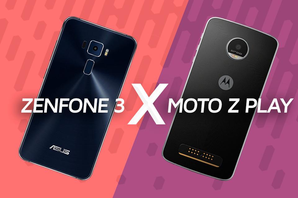 Imagem de Comparativo Zenfone 3 x Moto Z Play: qual é o melhor smartphone? no tecmundo