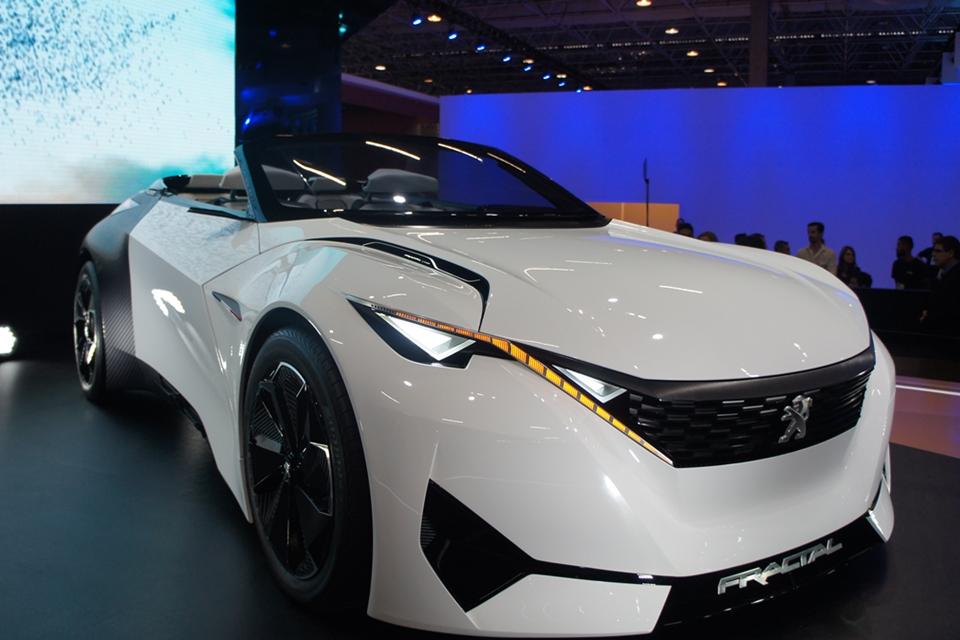 Imagem de Rugido do Leão: Peugeot traz carro inspirado em ondas de som para o Salão no tecmundo