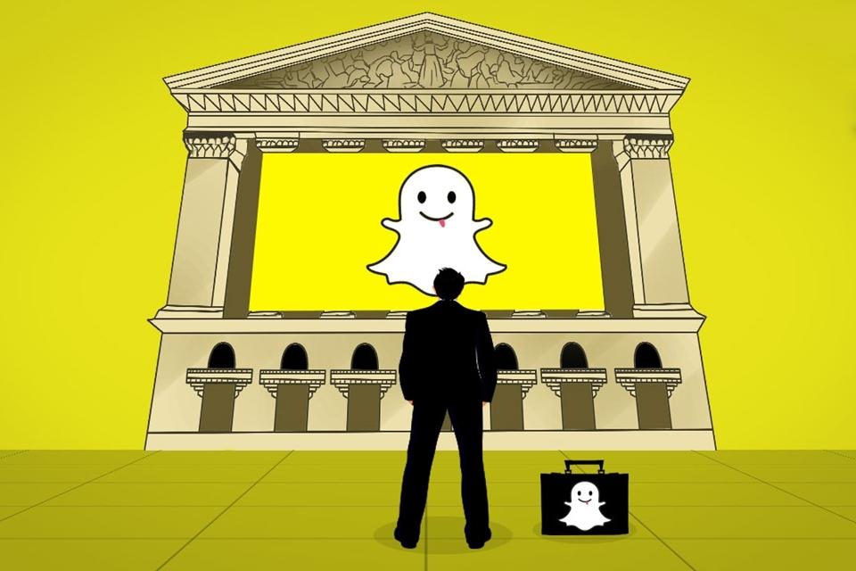 Imagem de Snapchat entra com pedido secreto de abertura de ações nos EUA no tecmundo