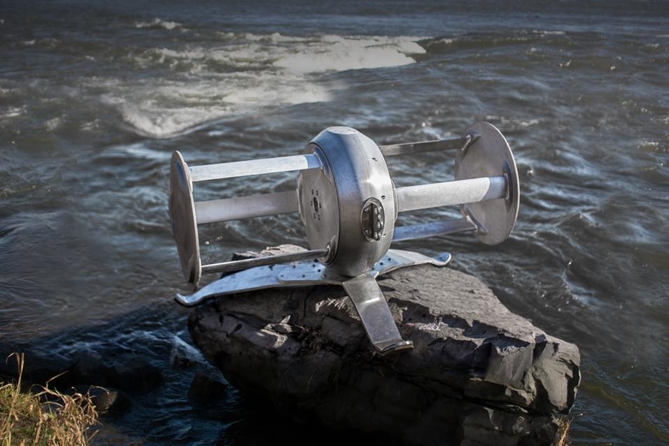 Imagem de Turbina portável gera energia elétrica usando a correnteza de rios no tecmundo