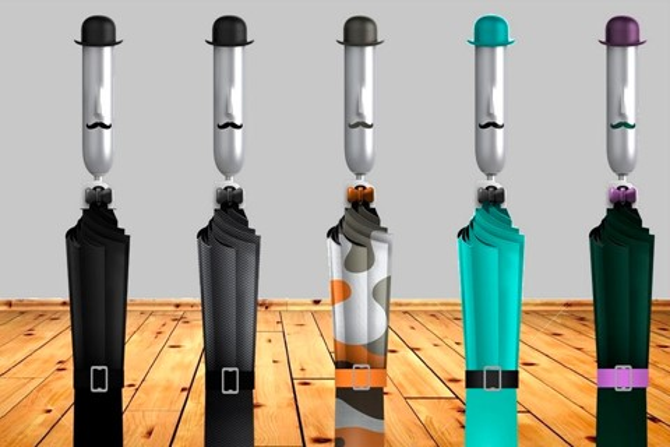 Imagem de Opus One: conheça o guarda-chuva inteligente com cara de mordomo inglês no tecmundo