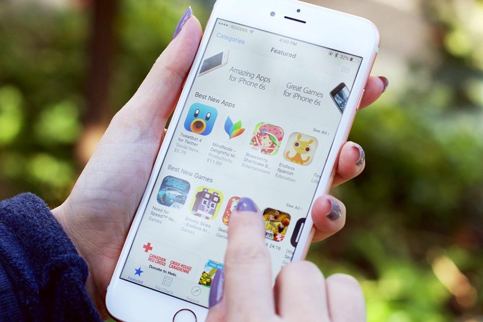 Imagem de Apple é processada em corte federal por monopólio na App Store no tecmundo