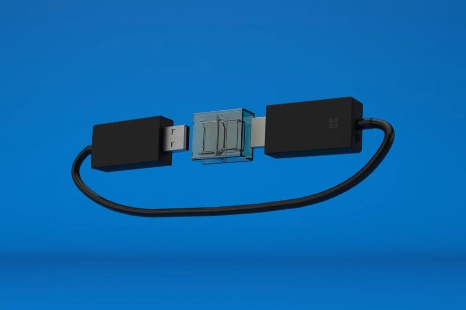 Imagem de Wireless Display Adapter: Microsoft lançou sua própria versão do Chromecast no tecmundo