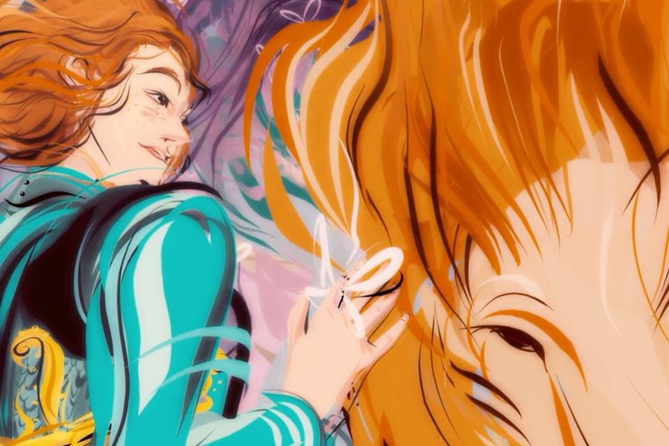 """Imagem de """"Dear Angelica"""" demonstra o futuro da animação em VR no tecmundo"""