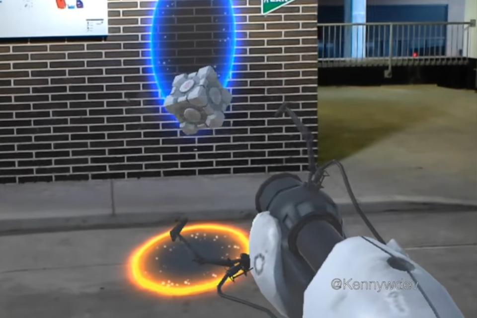 Imagem de Portal ganha versão não oficial para HoloLens e ela parece incrível no tecmundo