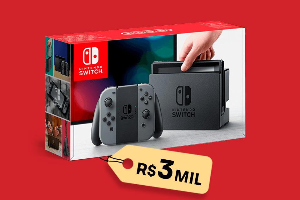 Imagem de Nintendo Switch pode ser encontrado em pré-venda no Brasil por até R$ 3 mil no tecmundo