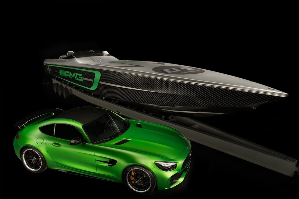Imagem de Esse barco da Mercedes-AMG e da Cigarette Racing é o GT R dos mares no tecmundo