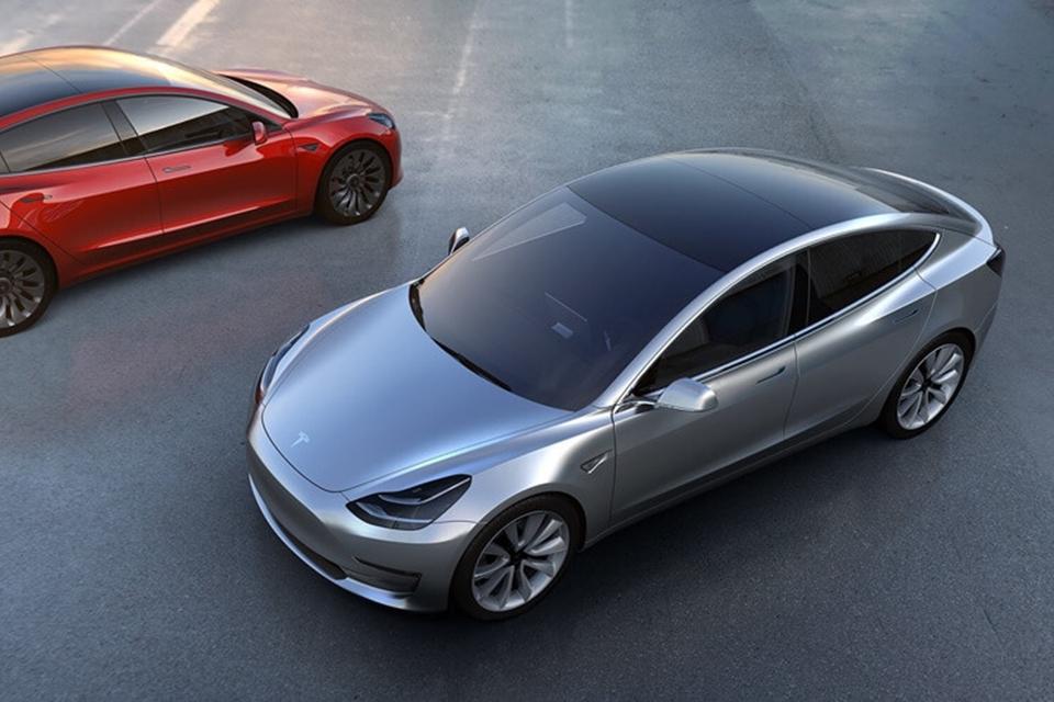 Imagem de Produção do Model 3, da Tesla, cumpre prazo e deve começar em julho no tecmundo