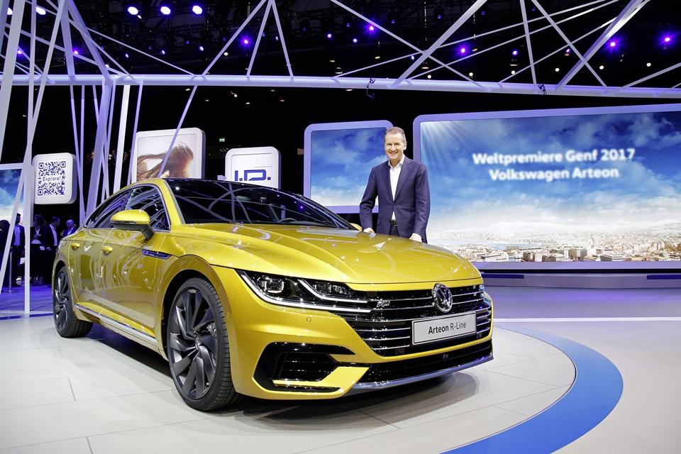Imagem de Volkswagen anuncia novo sedã com design elegante, o Arteon no tecmundo