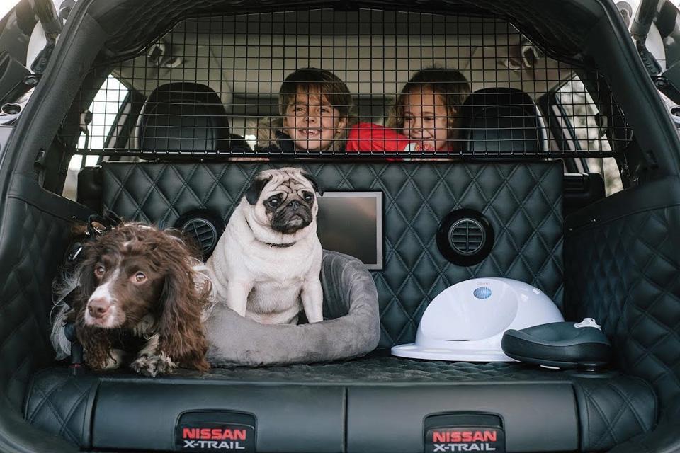 Imagem de Nissan X-Trail 4Dogs: carro-conceito é ideal para levar cães para passear no tecmundo