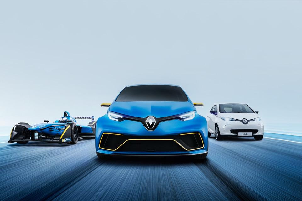 Imagem de Novo conceito do Renault Zoe E-Sport é animal, mas não é pro seu bico no tecmundo