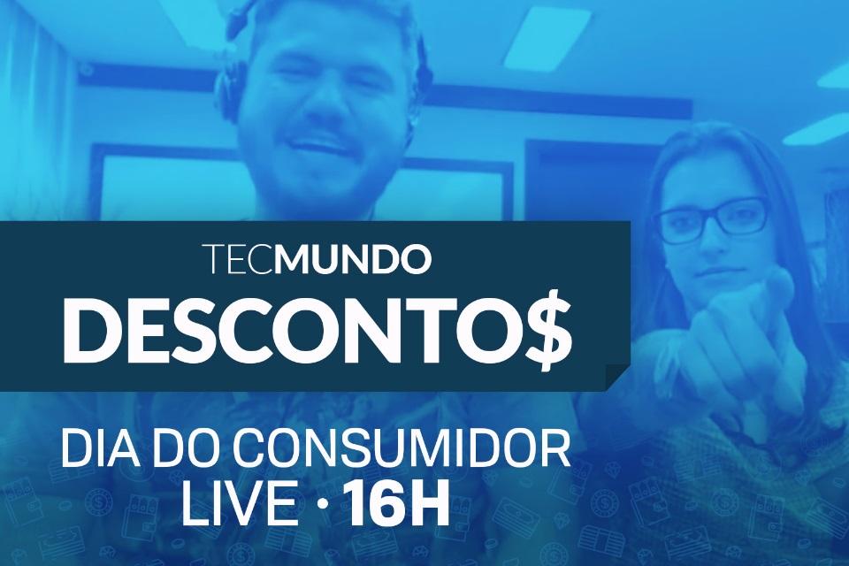 Imagem de Dia do Consumidor: as melhores ofertas do TecMundo Descontos ao vivo às 16h no tecmundo