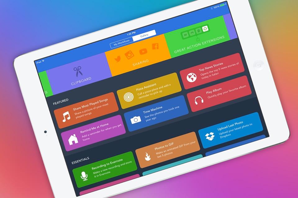 Imagem de Apple compra o popular serviço Workflow e deixa ele grátis na App Store no tecmundo