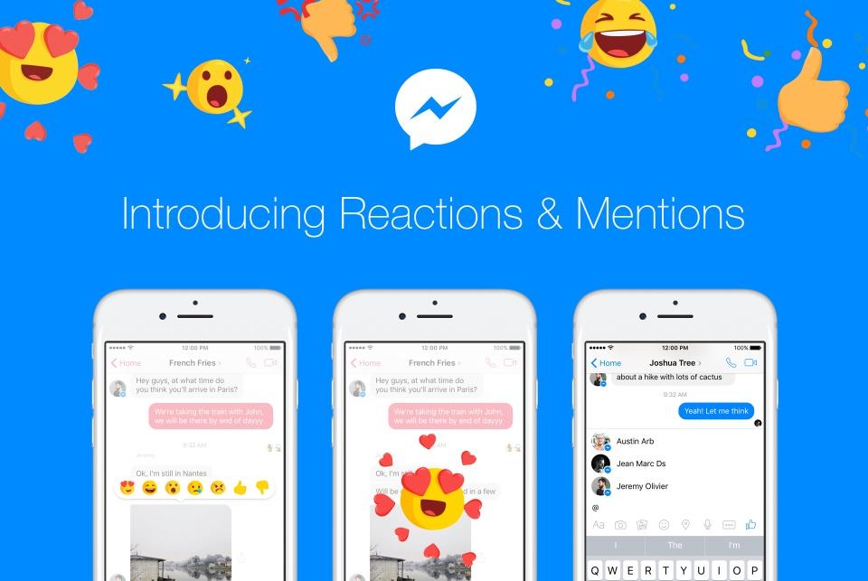 Imagem de Facebook Messenger ganha novidades como menções e reações no tecmundo