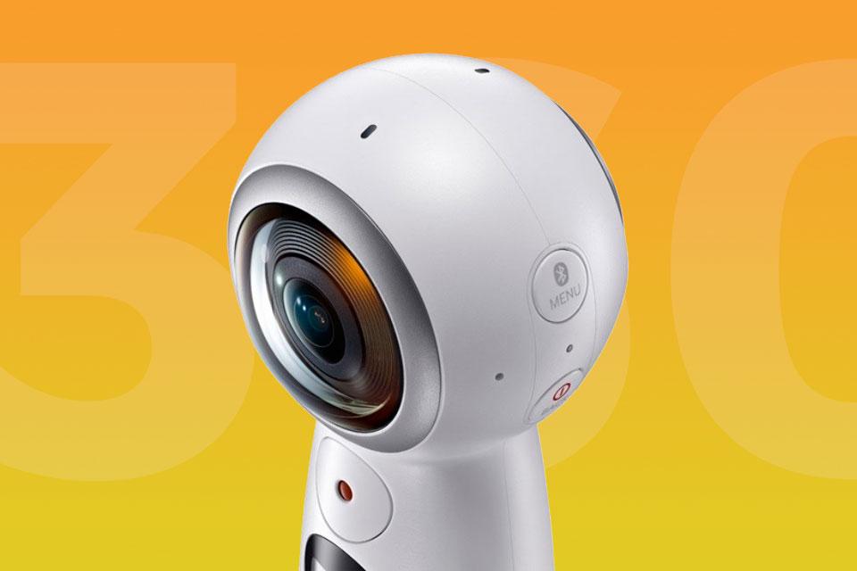Imagem de Samsung anuncia segunda geração da câmera Gear 360; agora com gravação 4K no tecmundo