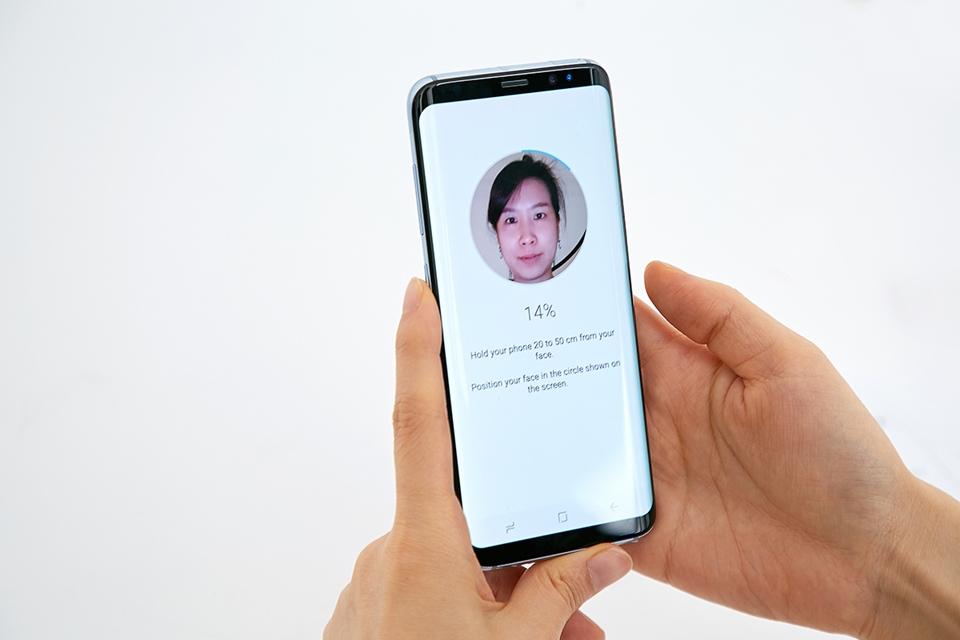 Imagem de Você pode usar seu rosto para navegar em sites e aplicativos no Galaxy S8 no tecmundo