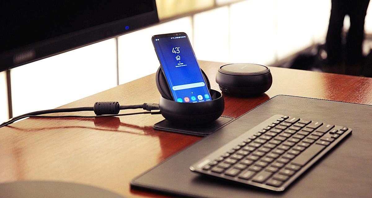Imagem de DeX Station: dock que transforma Galaxy S8 em PC chega em abril por US$ 150 no tecmundo
