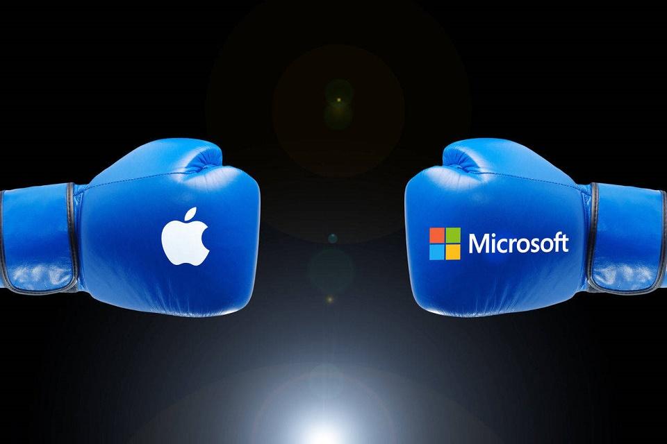 Imagem de Windows 10 é quatro vezes mais popular que o Mac, mostra a Apple no tecmundo