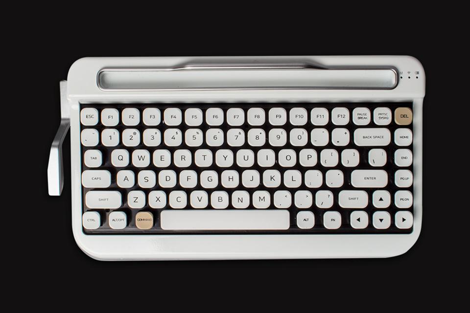 Imagem de Penna é o teclado Bluetooth que junta modernismo com retrô perfeitamente no tecmundo