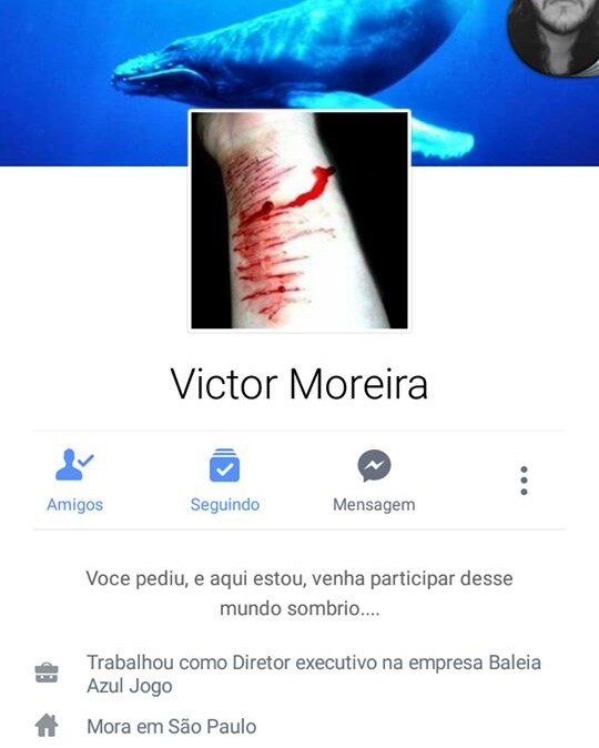 Alerta aos pais: desafio suicida 'Baleia Azul' chega ao Brasil