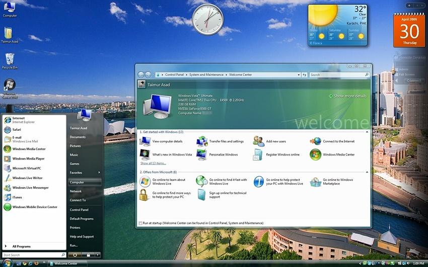 Microsoft diz adeus ao Windows Vista