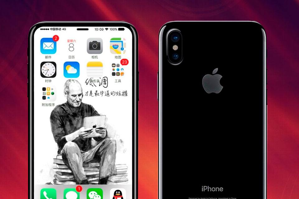 Imagem de Rumor: seria esse o design final do iPhone 8? Se sim, ele é incrível no tecmundo